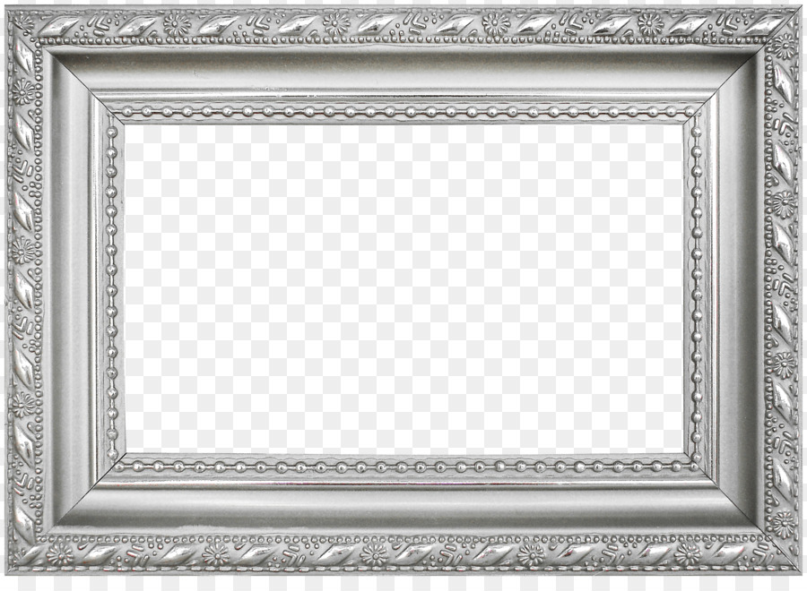 picture frame silver icon silver frame pattern png. Black Bedroom Furniture Sets. Home Design Ideas