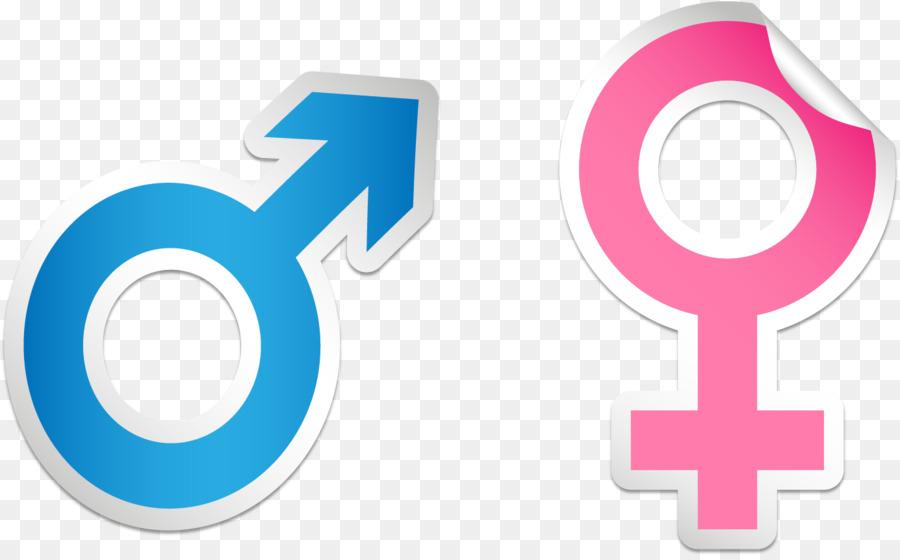 Female Euclidean Vector Symbol Vector Male And Female Symbol