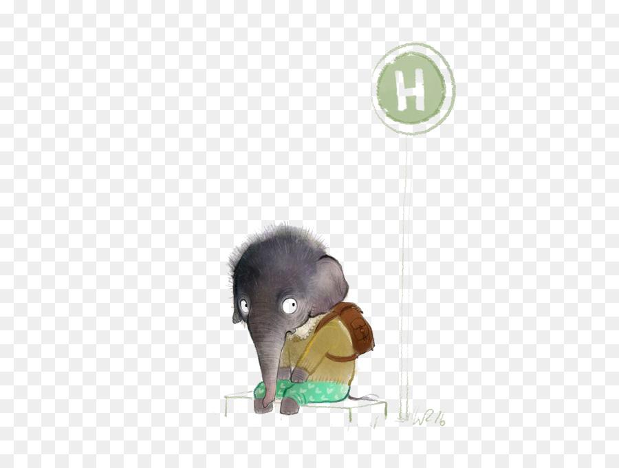 çizim Fil Hayvan Boyama Illüstrasyon Fil Png Indir 500674