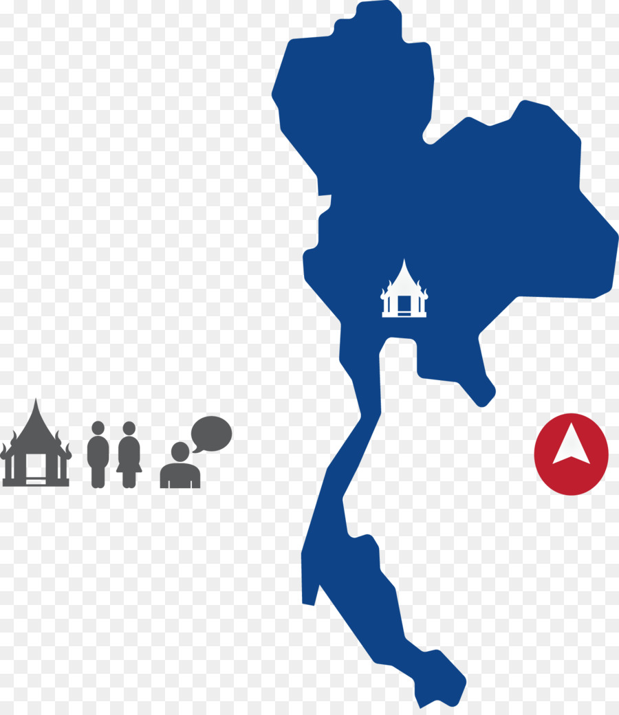 Thailand Vector Map Royalty-free - Thailand tourist map png download ...