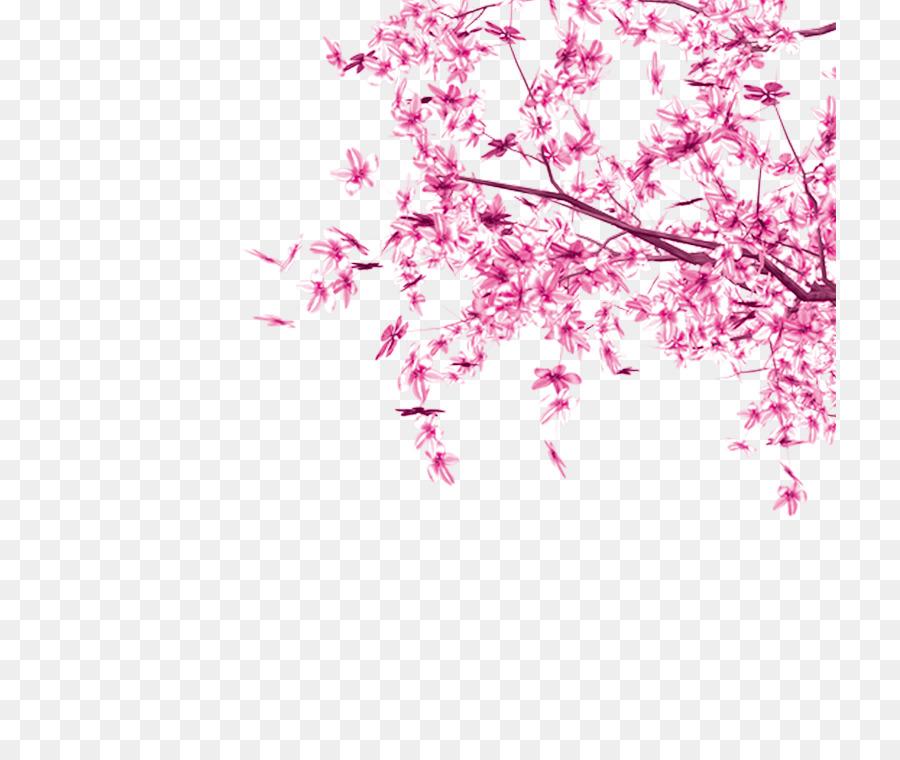 Flor de cerezo Rosa Hoja de Árbol - Las hojas de color rosa Formatos ...