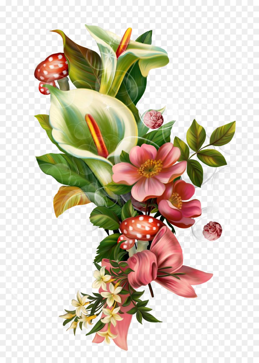 Artes visuales diseño Floral de la Flor de Dibujo Clip art ...