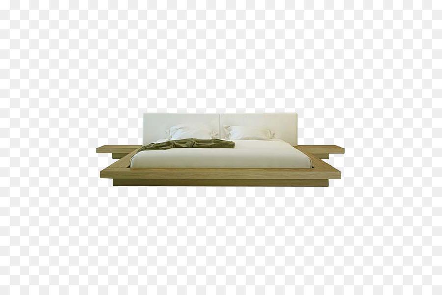 Mesita de noche Mesa de la Plataforma de la cama marco de la Cama ...