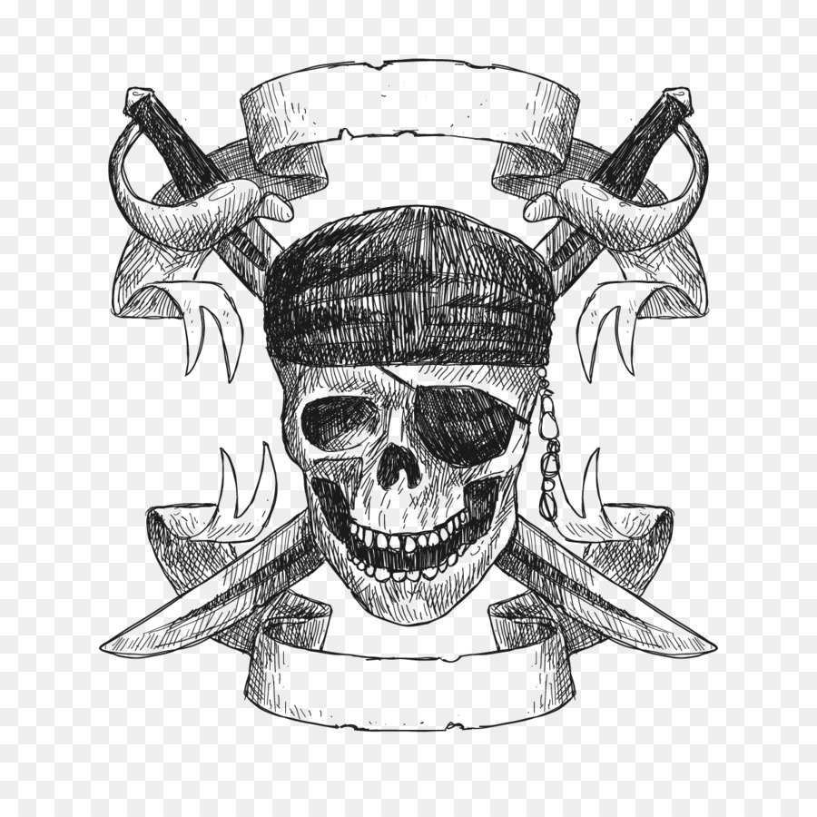 Piracy Plate Paper Pirates Of The Caribbean Zazzle Vector Pirate