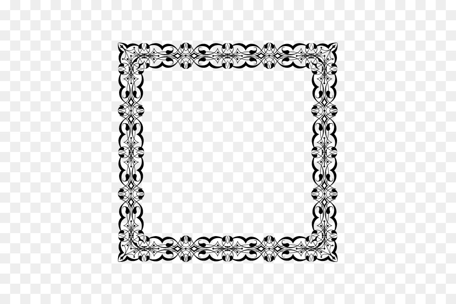 Software Pattern - Simple square frame png download - 600*600 - Free ...