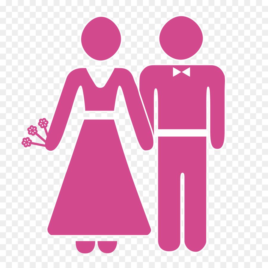 Invitación de la boda el Matrimonio Icono - Vector de la boda de la ...