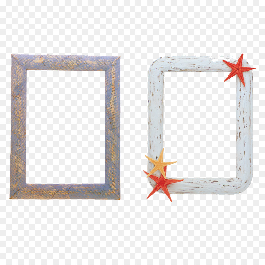 Photographic film Digital video Picture frame Clip art - Starfish ...