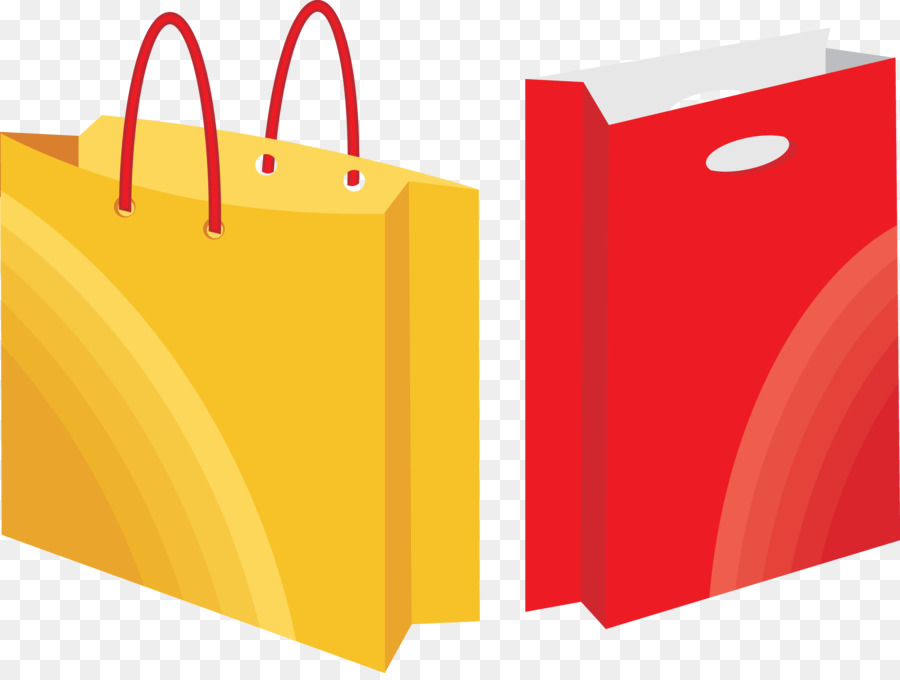 shopping bag paper graphic design shopping bag vector material png