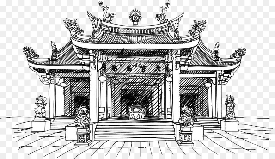 China Chinese Temple Clip Art