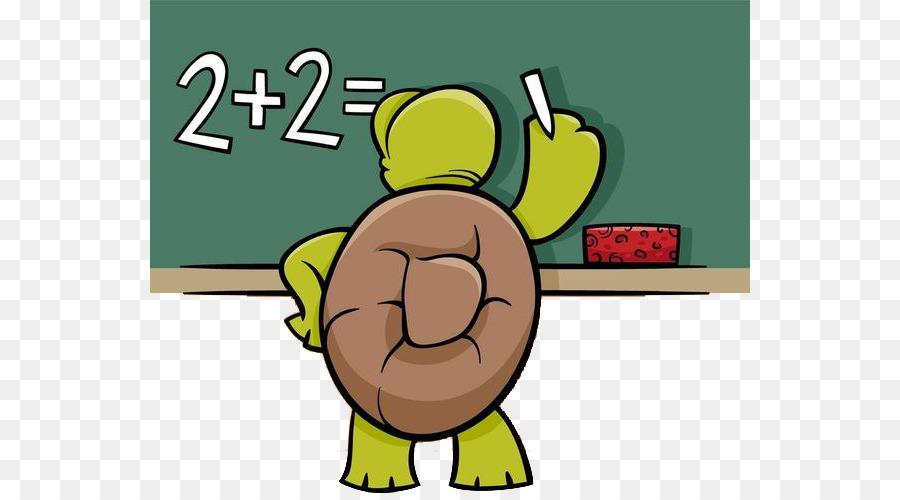 Cartoon Mathematics Mathematical Problem Illustration