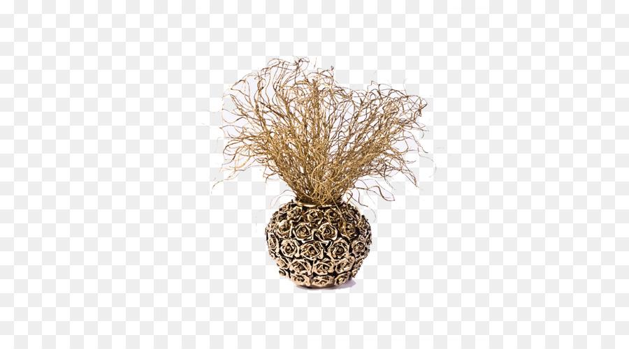 Vase Ornament Decorative Arts Artificial Flower Florero Antique