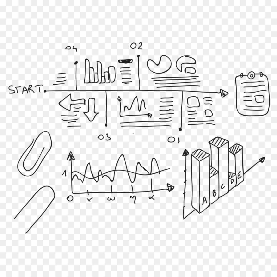 Drawing Mathematics Mathematical Notation Symbol Histogram Sketch