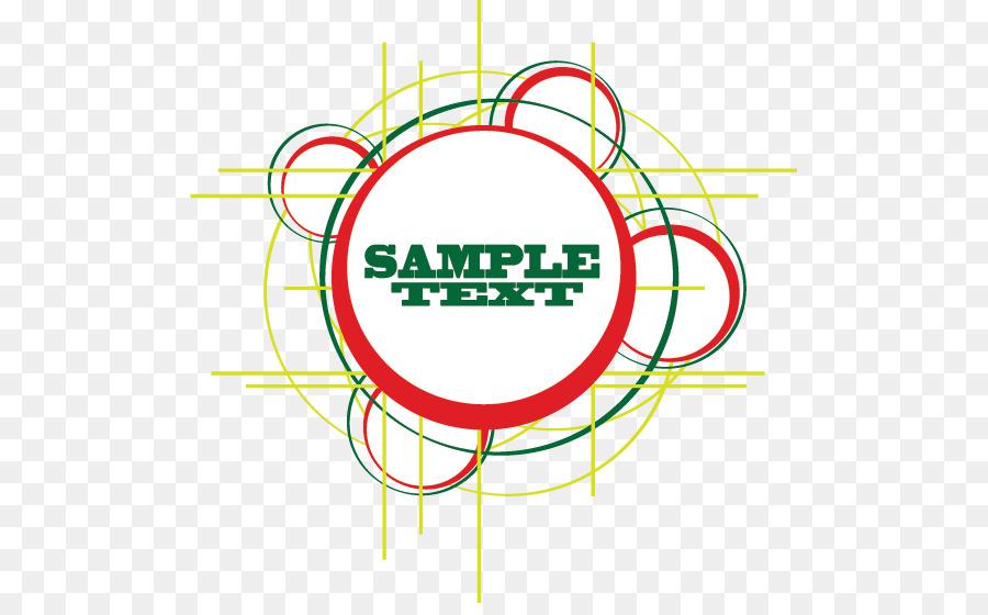 Círculo Banner Clip art - Vector marco del círculo tema de la línea ...