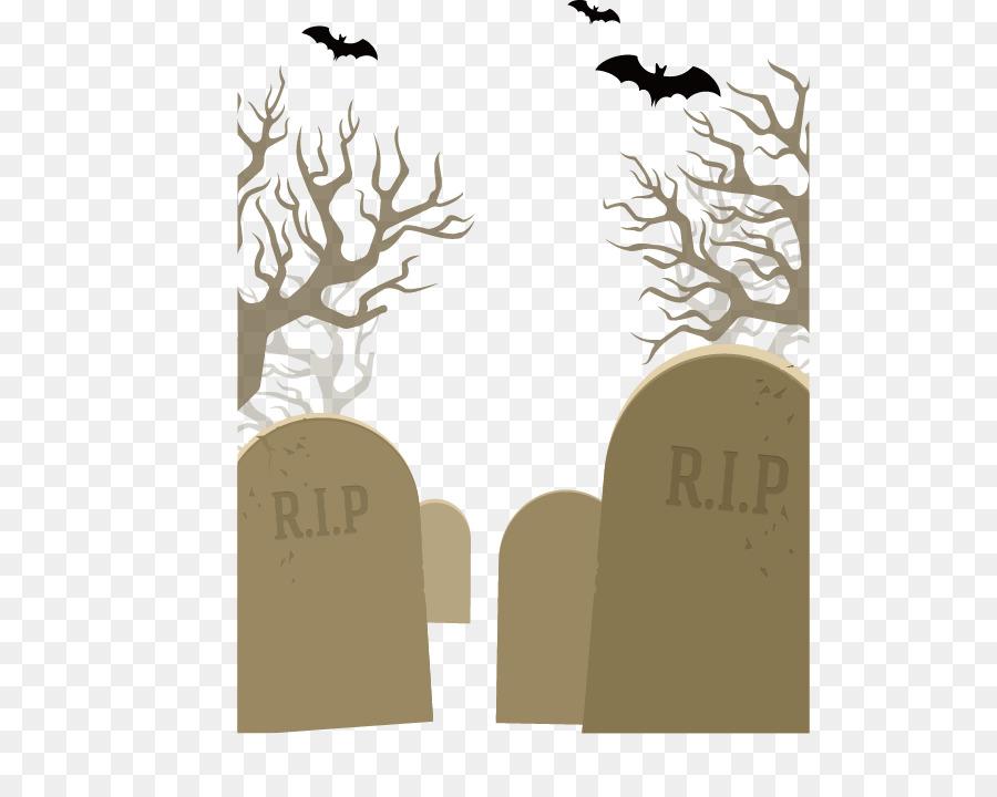 Monstruos de Halloween de Papel de Jack-o-lantern - Lápida De La Bat ...