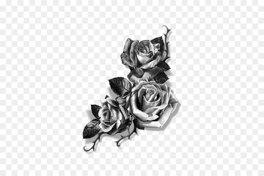 Sleeve Tattoo Forearm Flash Cover Up Rose Sketch Png Download