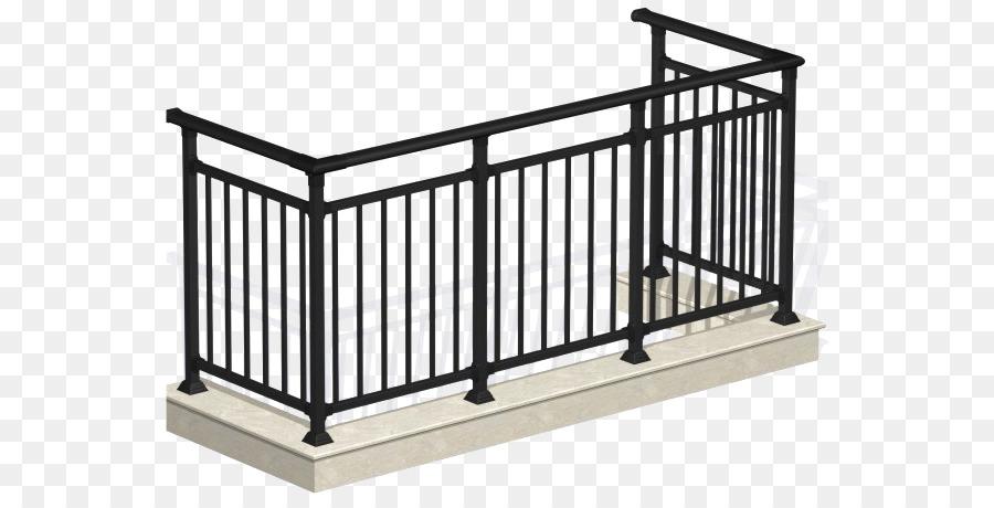 Brustung Treppe Balkon Bugeleisen Edelstahl Zaun Png