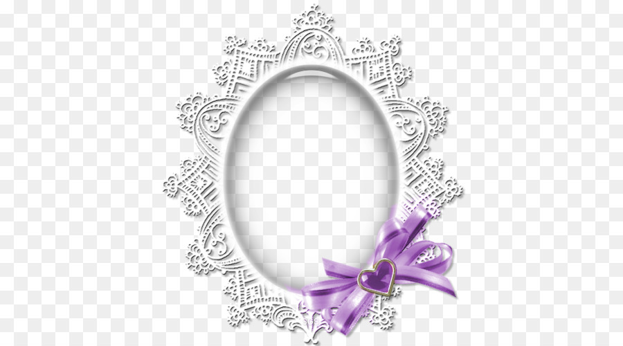 Picture frame - Round white lace crystal jewelry png download - 500 ...