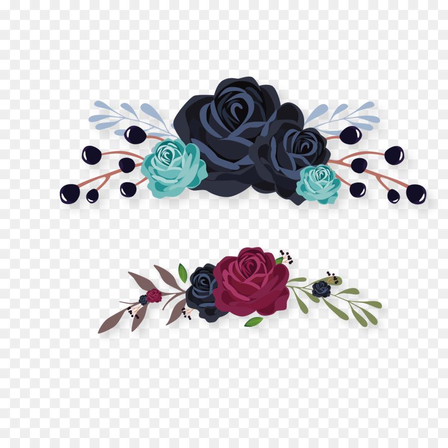 Jace Wayland Paper Wedding Invitation Address Book Flower Black