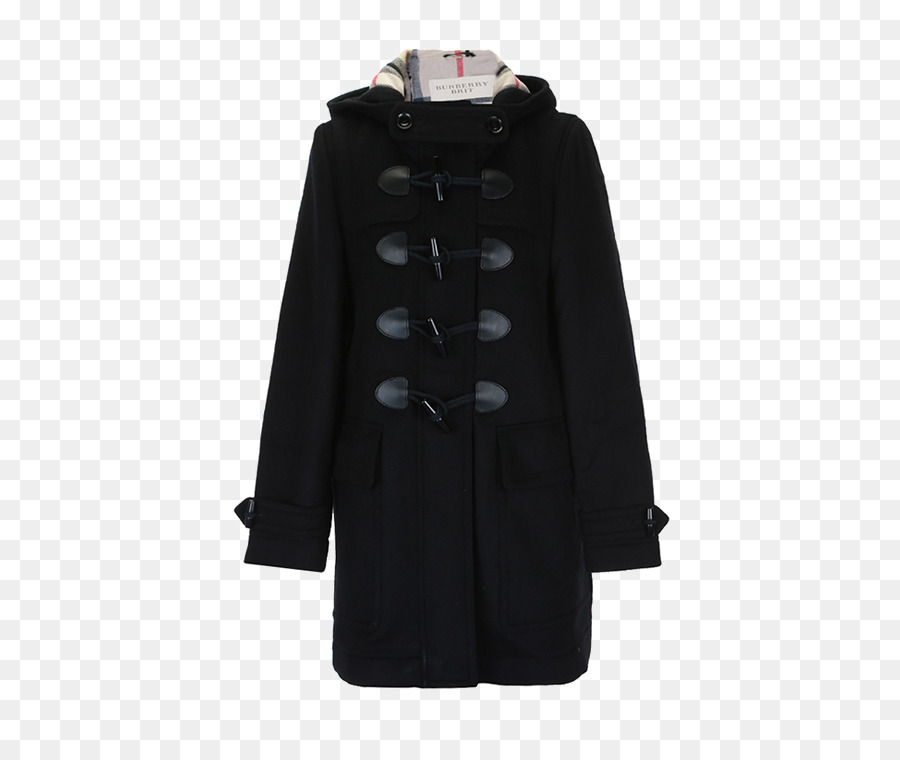 Jacket Overcoat Hat Burberry - Version cut straight horn button coat ... 2fb36354fdf