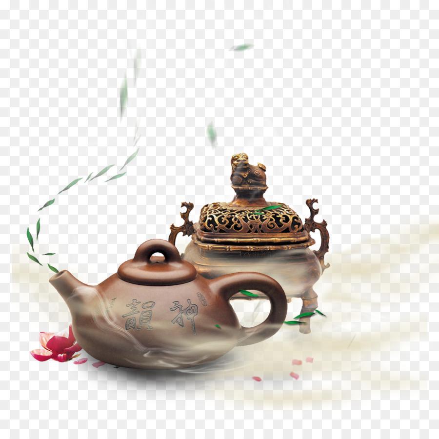 tea censer poster smoke filled tea png download 1500 1500 free