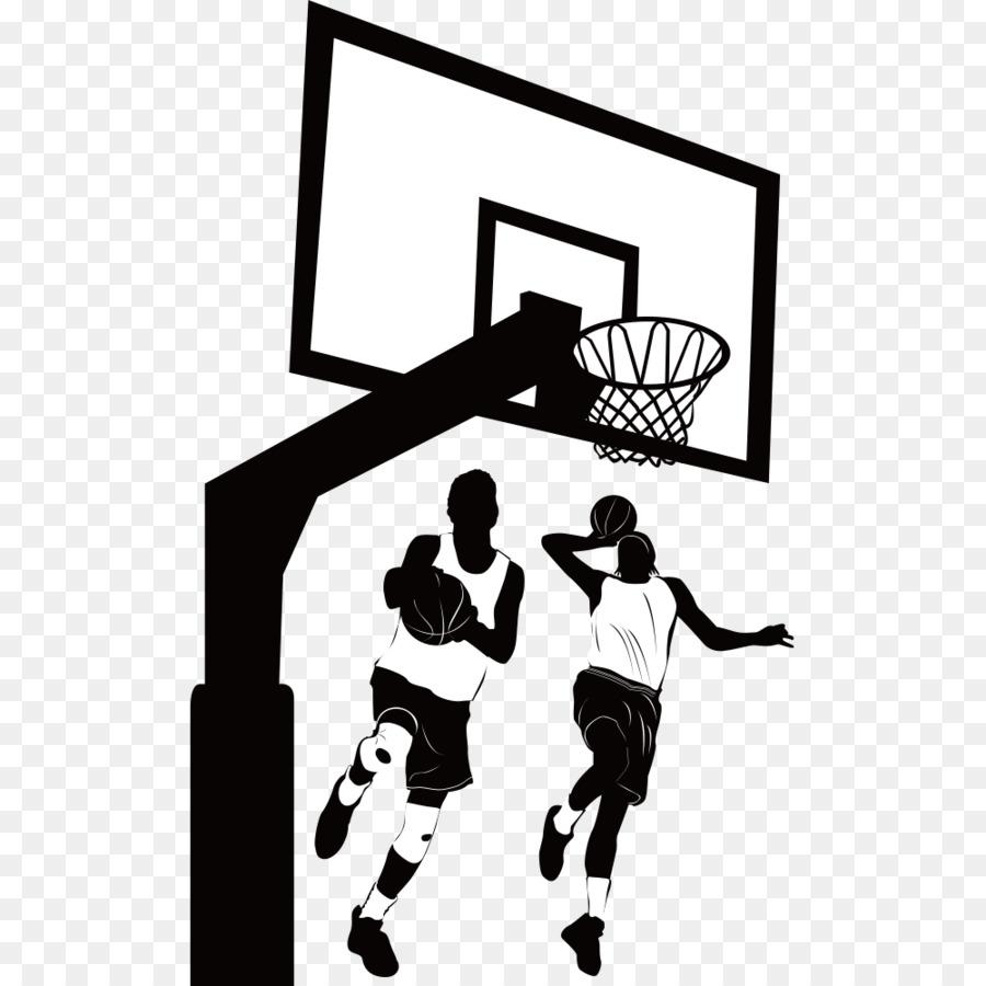Womens Basketball Backboard Clip Art