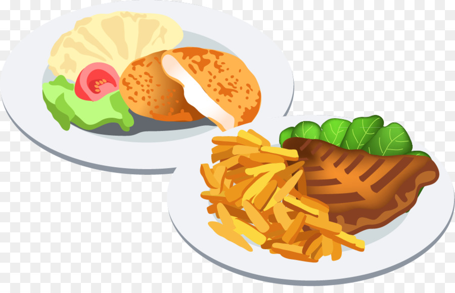 Food dinner. Junk cartoon png download
