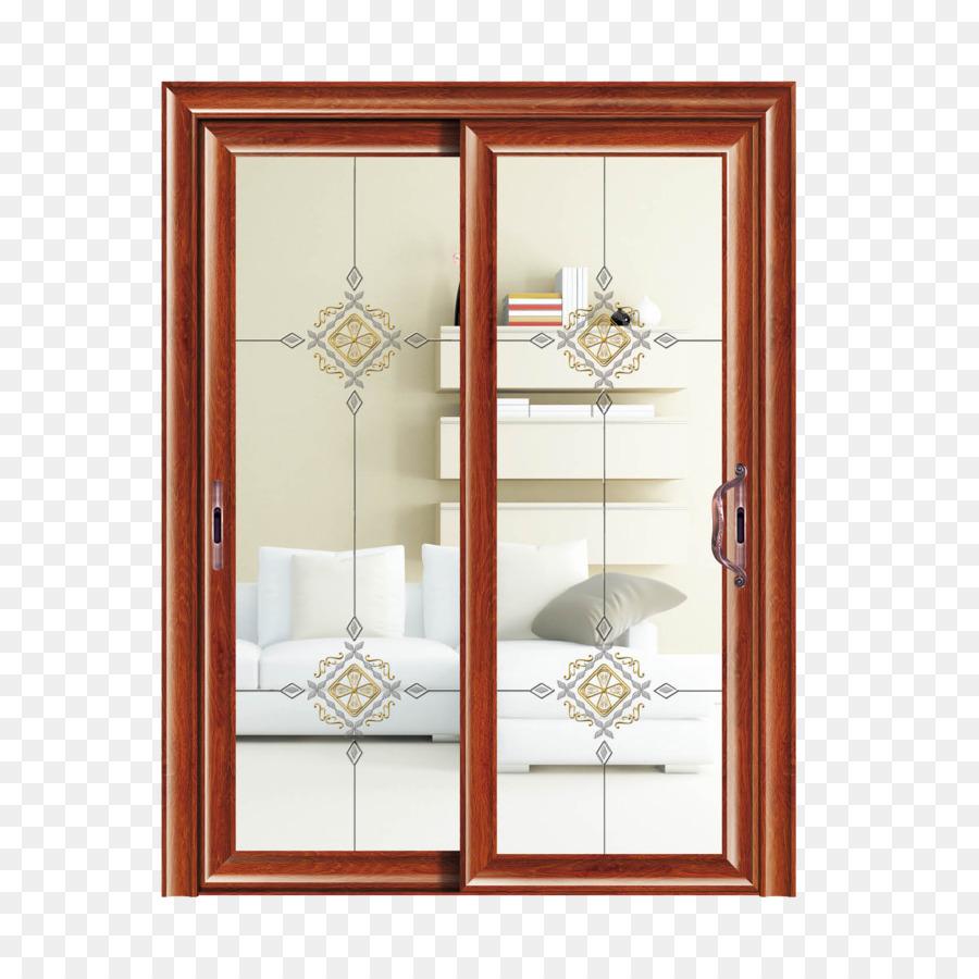 Window Sliding door Aluminium Glass - Indoor sliding doors png ...