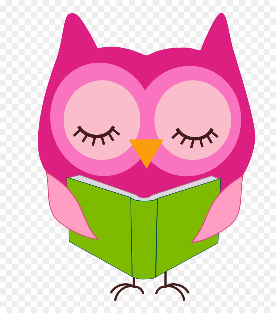 reading owl notepad clip art pink owl reading png download 830 rh kisspng com pink and blue owl clip art pink owl on branch clip art