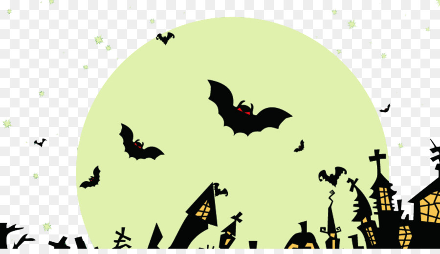 Halloween Trick Or Treat Silhouette.Halloween Pumpkin Silhouette Png Download 950 537 Free