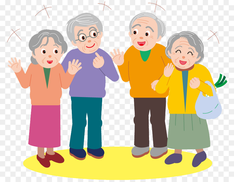 Image of: Senior Cartoon Old Age Clip Art Elderly Party Png Download 850694 Free Transparent Cartoon Png Download The Conversation Cartoon Old Age Clip Art Elderly Party Png Download 850694