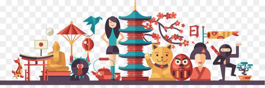 Japan Web Banner Web Design Illustration National Day
