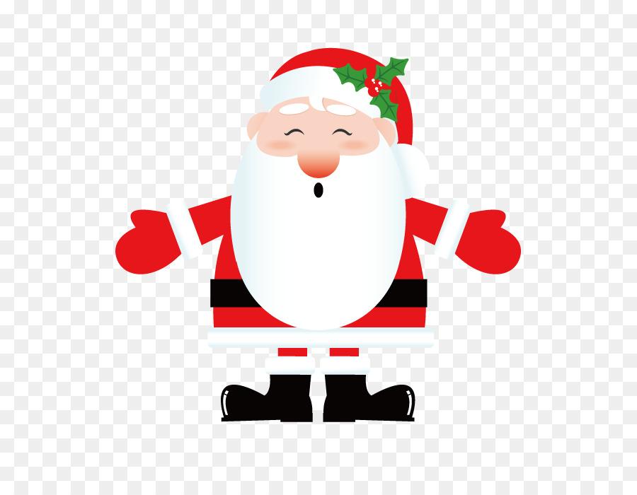 Decorazioni Di Natale Disegni.Babbo Natale Decorazione Di Natale Disegno Vector Natale
