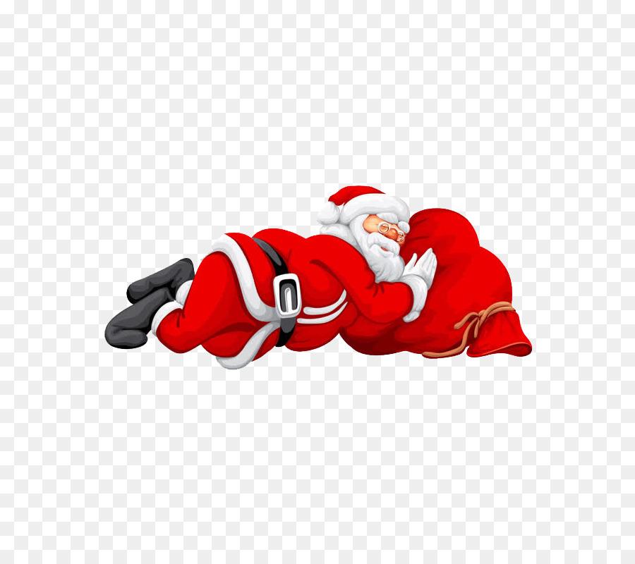 Santa Claus Weihnachts-Karte Wunsch Gruß - Weihnachtsmann png ...