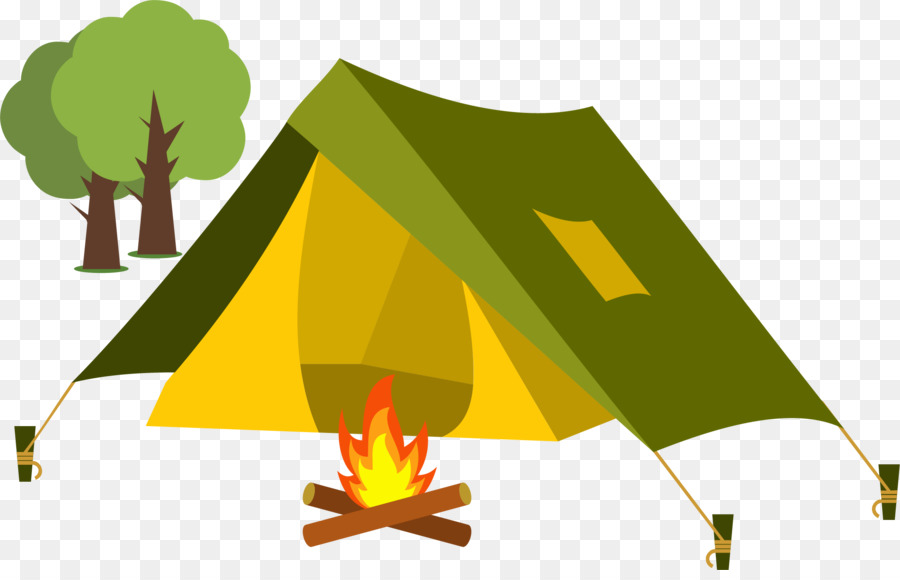 Tent Cartoon Camping Clip Art