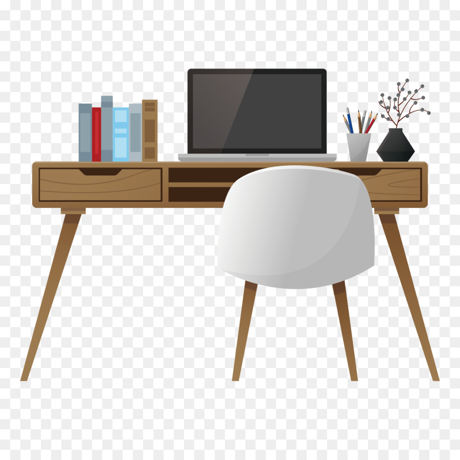 table office desk interior design services - simple style work desk