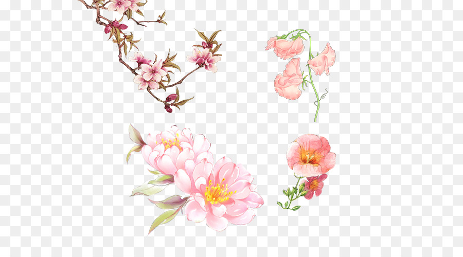 google images drawing antique flowers png download 600 500