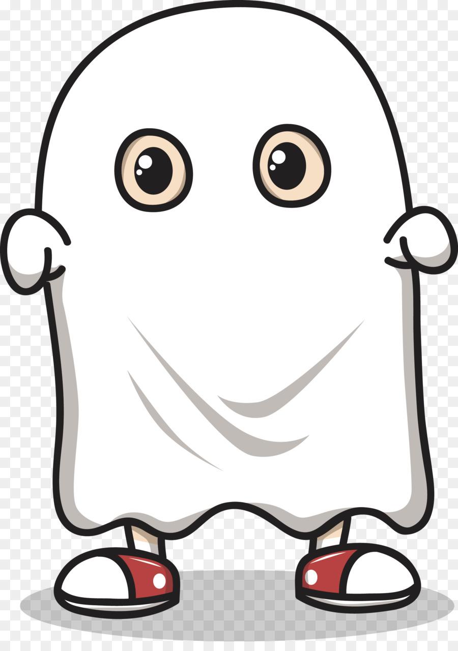 Ghost Cartoon Clip art - Vector cartoon ghost png download ...