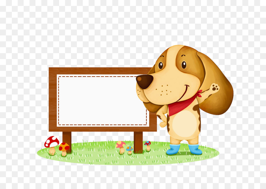 beagle puppy cartoon illustration puppy text box png download