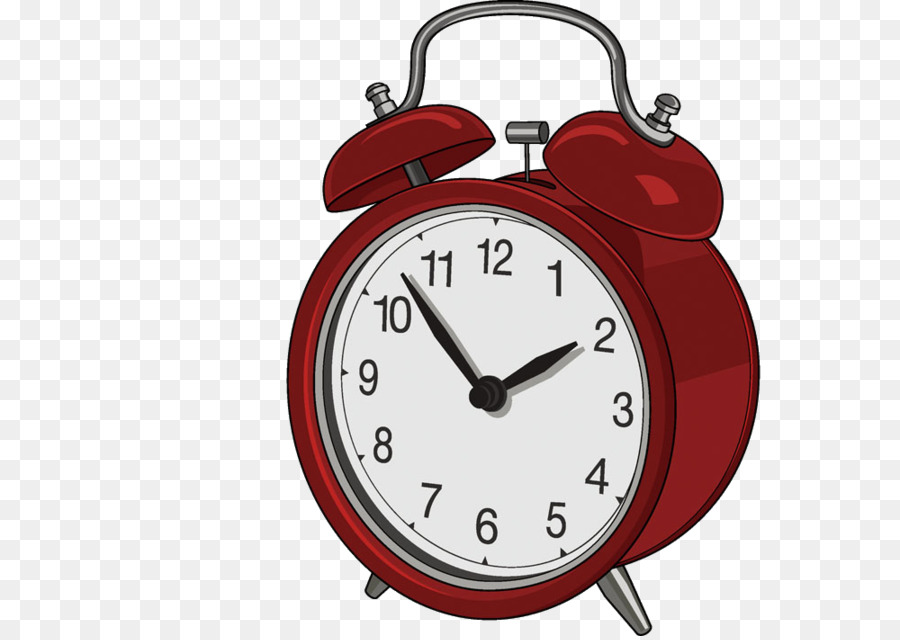 Table Alarm Clock Ikea Digital Clock Red Alarm Clock Png Download