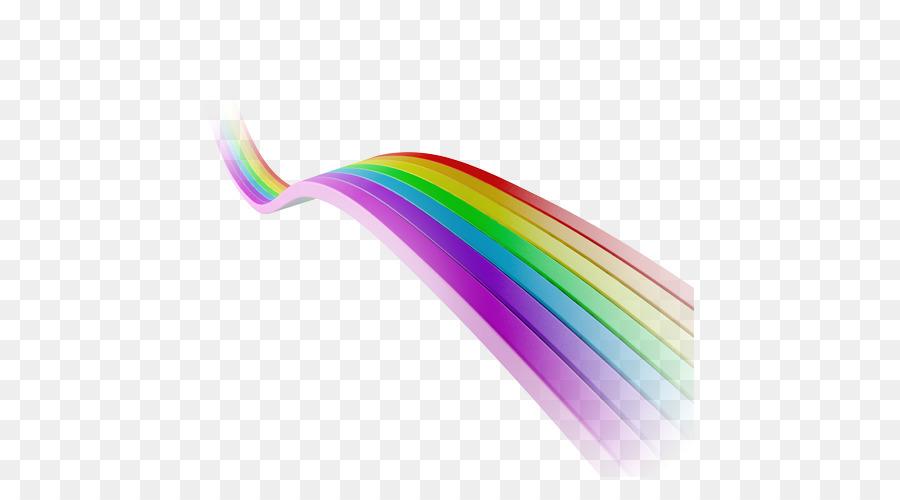 La Luz Del Arco Iris Iridiscente De Color - Libre de la correa de la ...