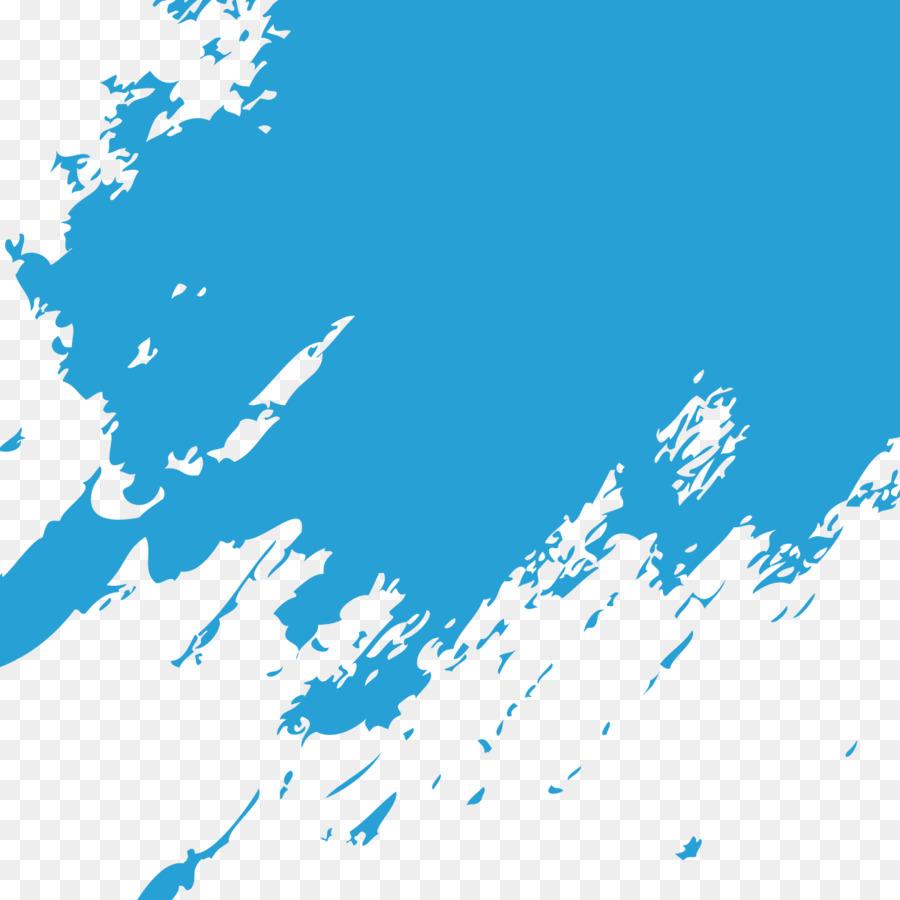 blue paintbrush blue paint brush marks png download 1200 1200