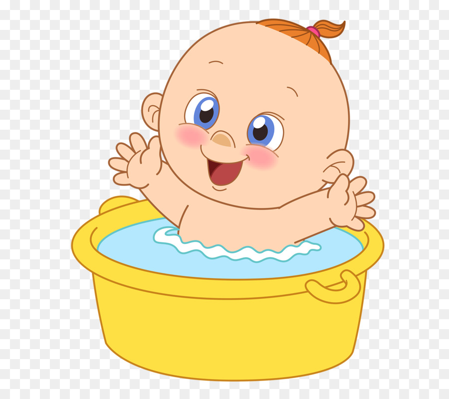 Infant Bathing Drawing Baby shower Clip art - Baby bath png download ...