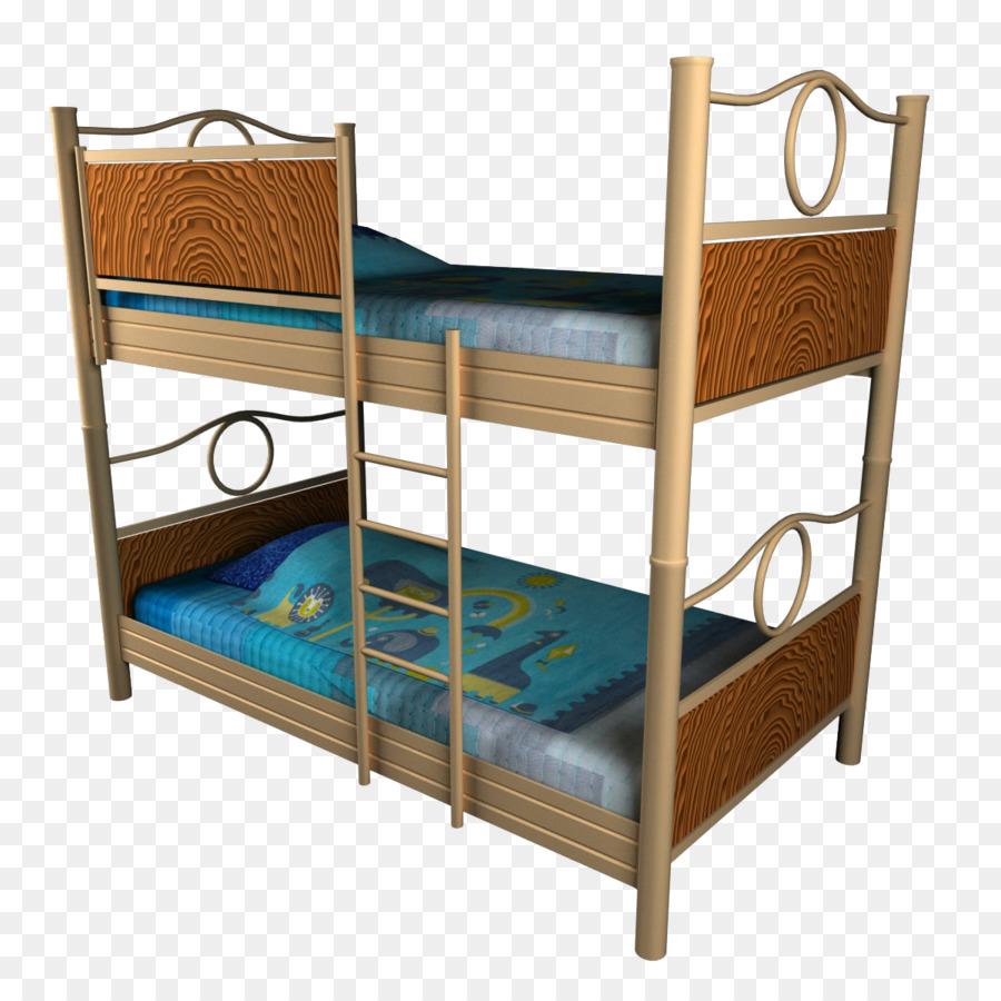 Marco de la cama de la Tabla de Dormitorio cama Litera - Marrón ...