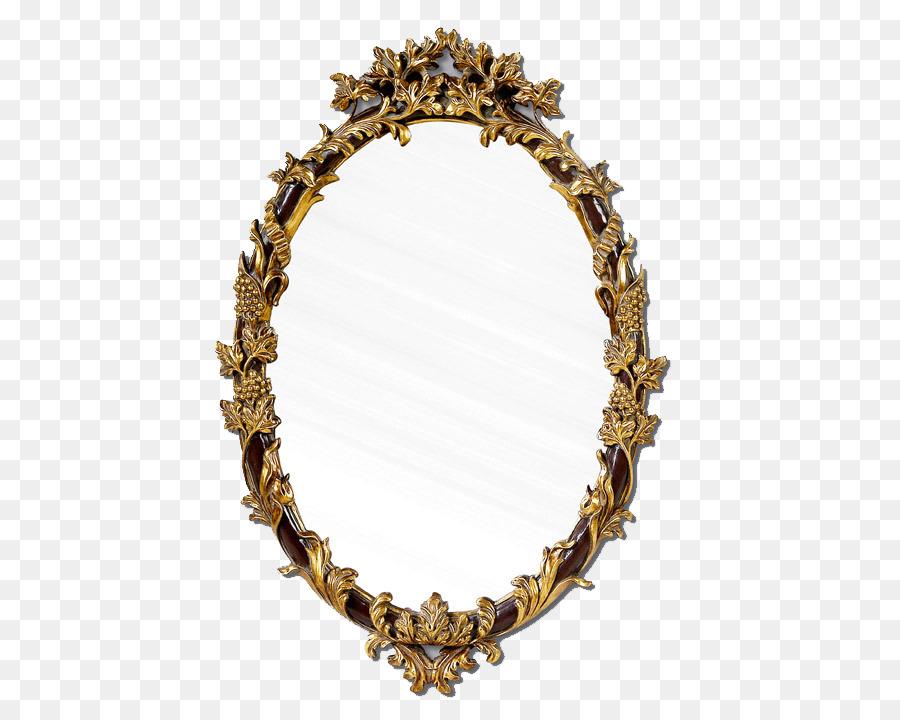 Farbe Streifen Spiegel Bilderrahmen Dekorative Spiegel Png
