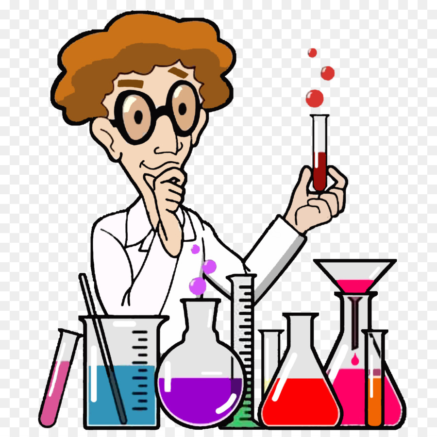 laboratory cartoon scientist clip art glass catheter png