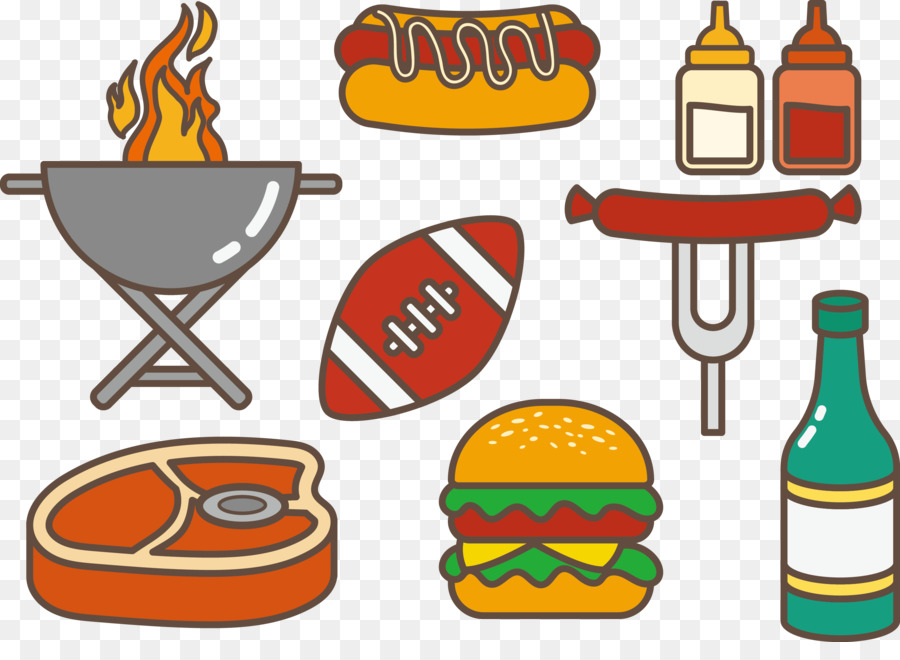 tailgate party hamburger hot dog barbecue clip art vector hot dog rh kisspng com tailgate clipart image tailgate clip art border