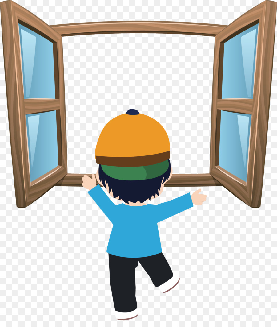 Window Cartoon Microsoft Windows Boy Play Png