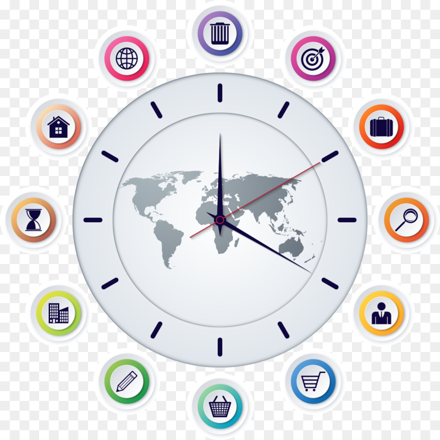 World map globe time clocks vector information png download 958 world map globe time clocks vector information gumiabroncs Images