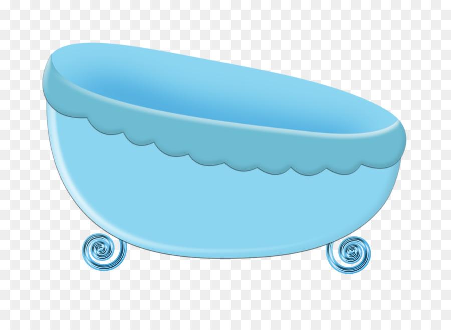 Infant Bathtub Drawing Cartoon Illustration - Blue cartoon bath png ...