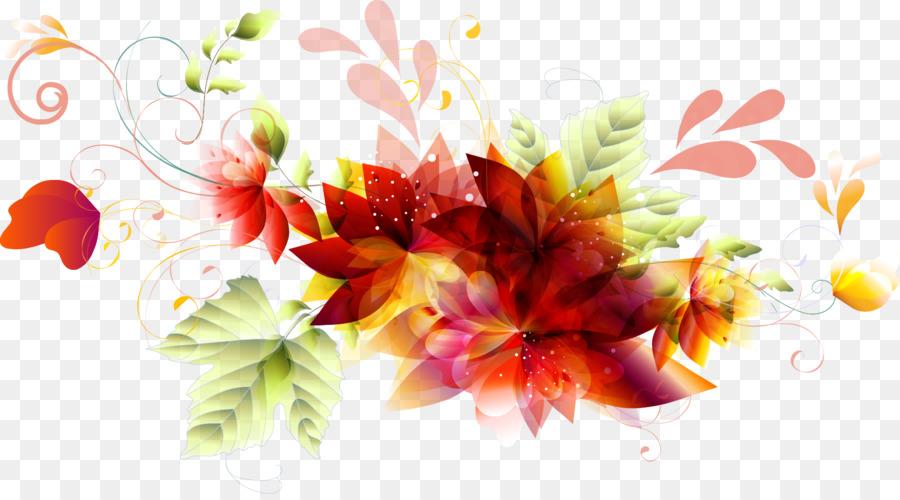 Graphic Design Flower Leaf